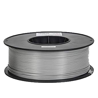 ABS Filament - 1.75 - Silver - Inland