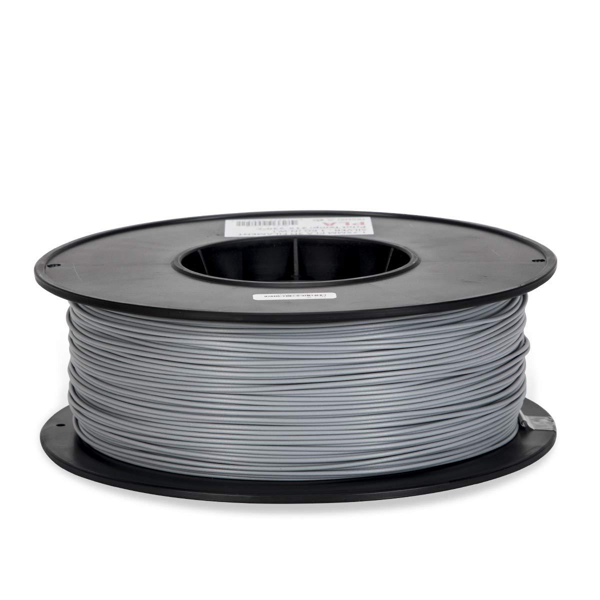 PLA Filament - 1.75 - Silver - Inland