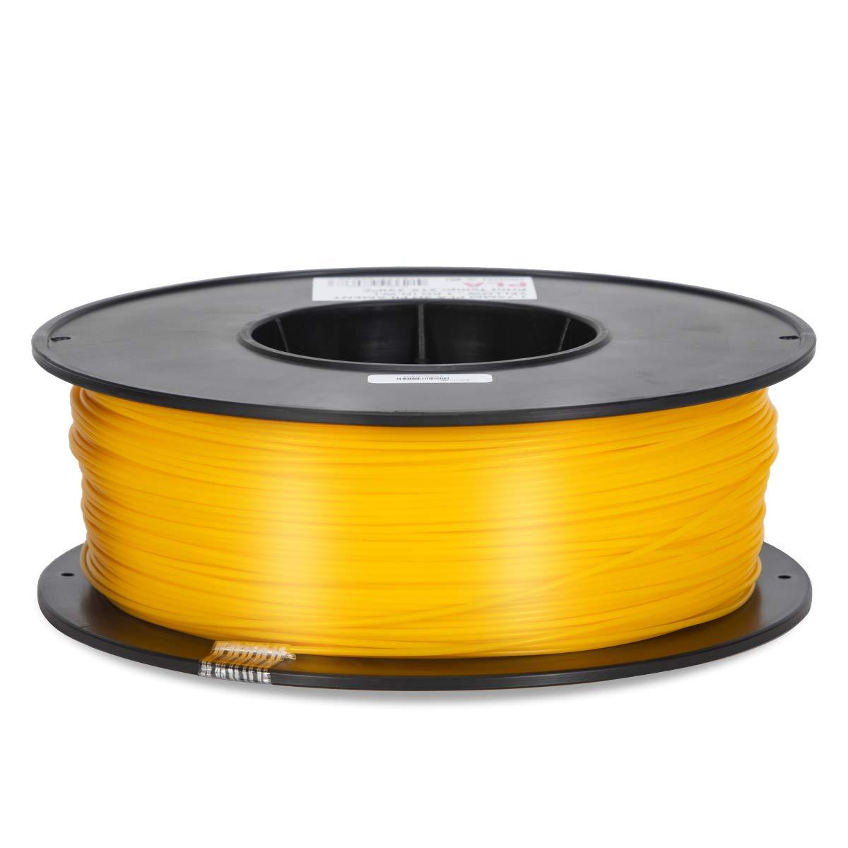 PLA Filament - 1.75 - Yellow - Inland